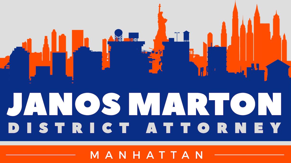 Janos Marton for Manhattan District Attorney